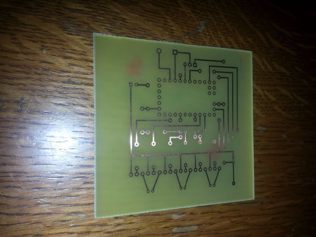 Etch the Circuit