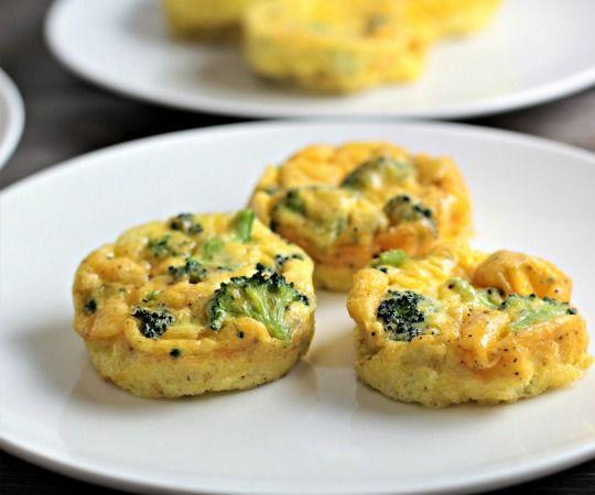 Broccoli Cheddar Egg Cups