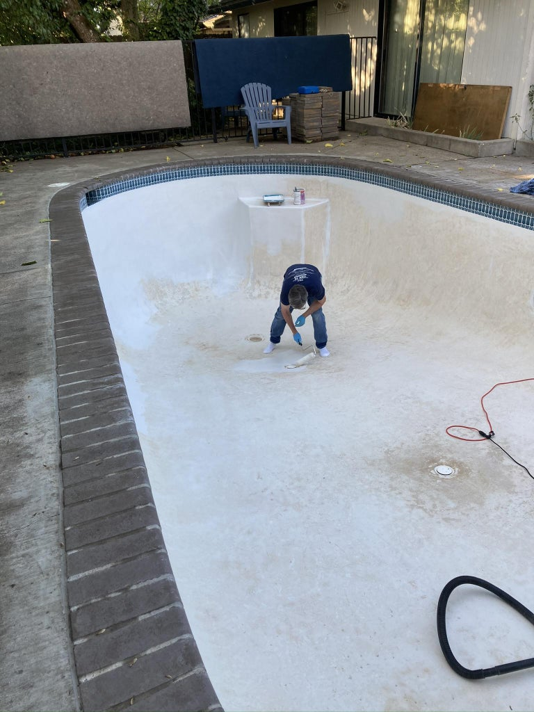 Prime the Surface of Your Pool