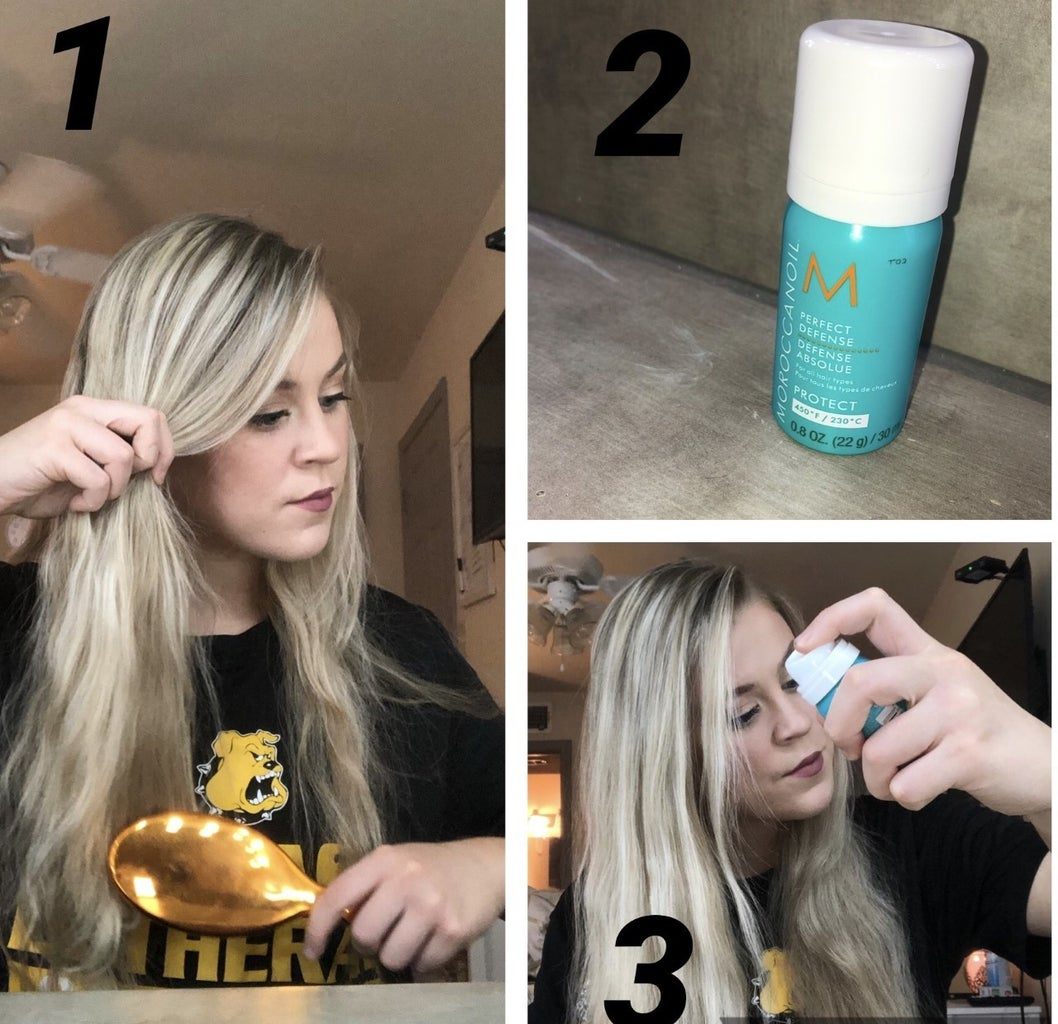 Prep Hair for Styling