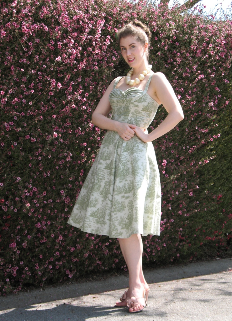 Toile de Jouy:  Upholstery Fabric and Quilting Cotton Re-Imagined
