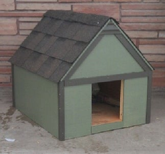 """Build Your Own Dog House - 24"""" X 30"""" Small Dog House"""