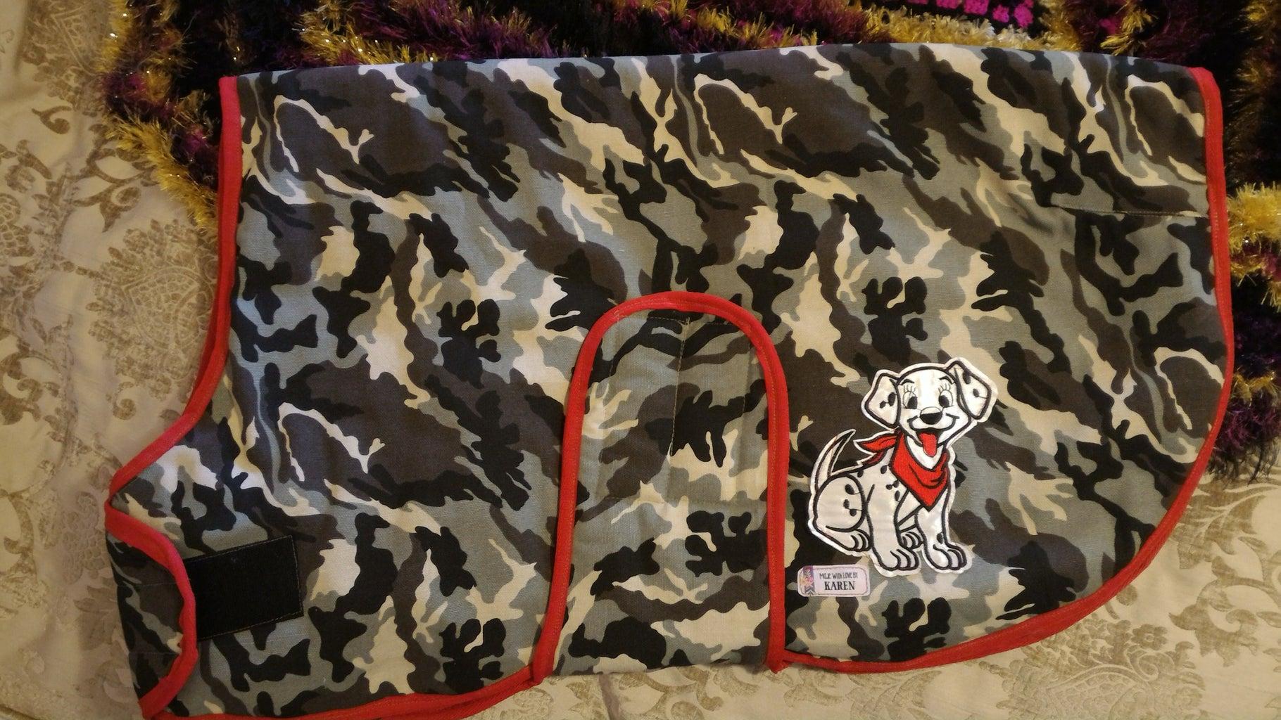 Warm Dog Coat Custom Size