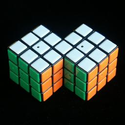 how to make and solve a siamese rubik's cube (my first instructable)
