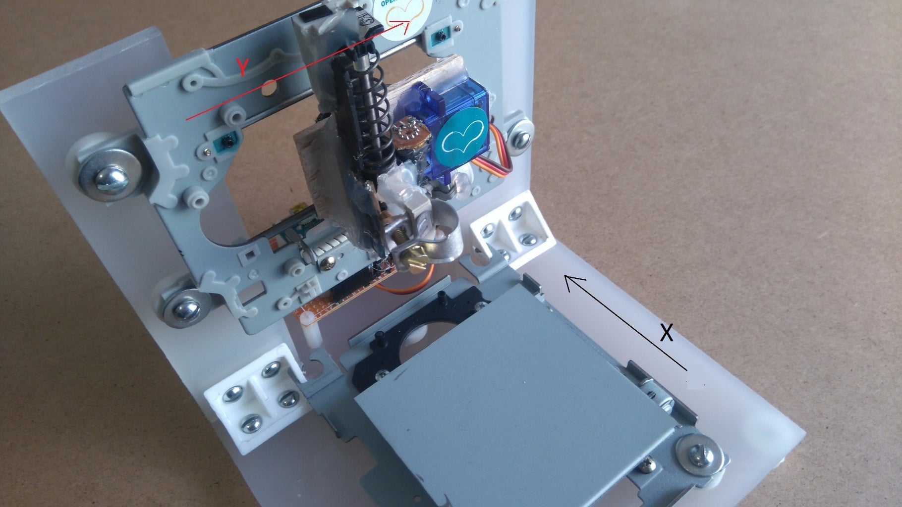 Testing Stepper Motors - X and Y Axes