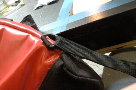 Sew the Second Part of the New Strap.