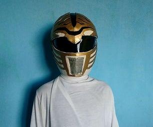 How to Make White Power Ranger Helmet