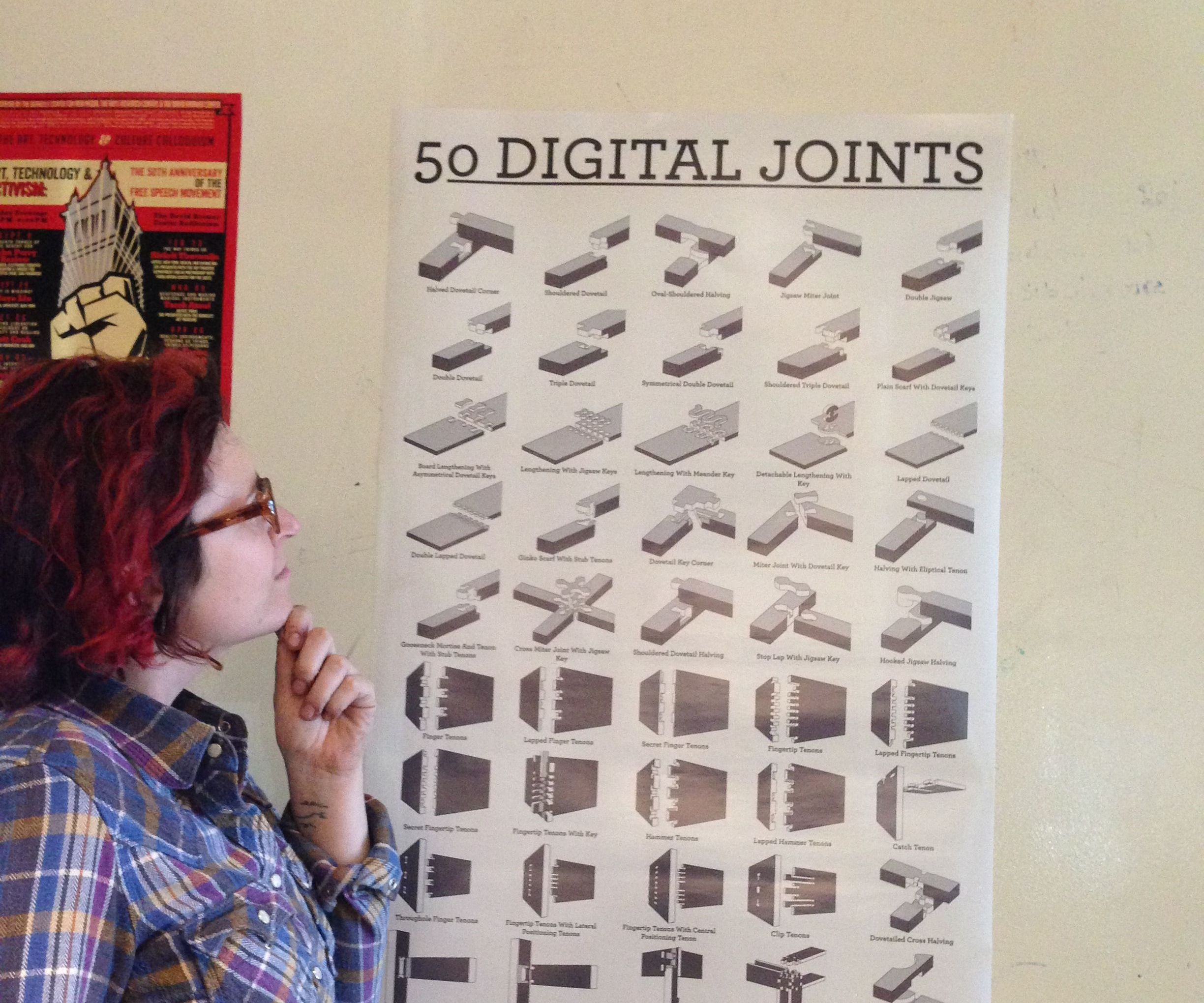 50 Digital Joints: poster visual reference