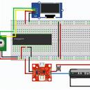Termómetro de carga solar infrarrojo instantáneo