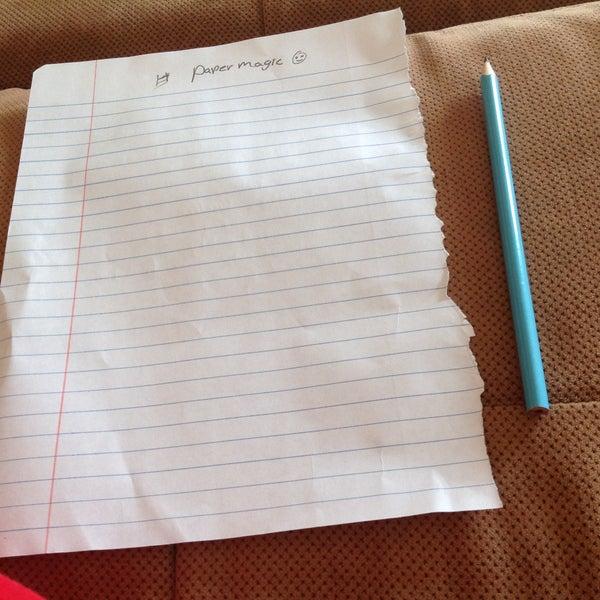 Paper Magictrick