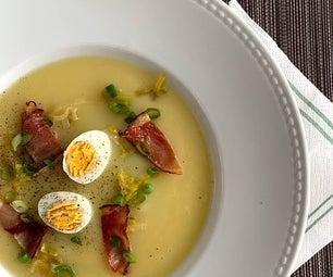 土豆和韭菜汤 - 重新加载