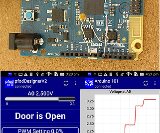 Arduino/Android for Beginners, No Coding Required - Data and Control