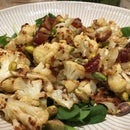 Delicious VEGAN Cauliflower Salad
