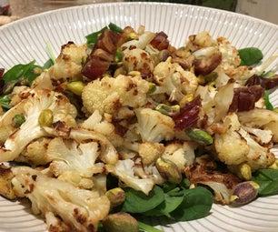 Delicious VEGAN Cauliflower Salad
