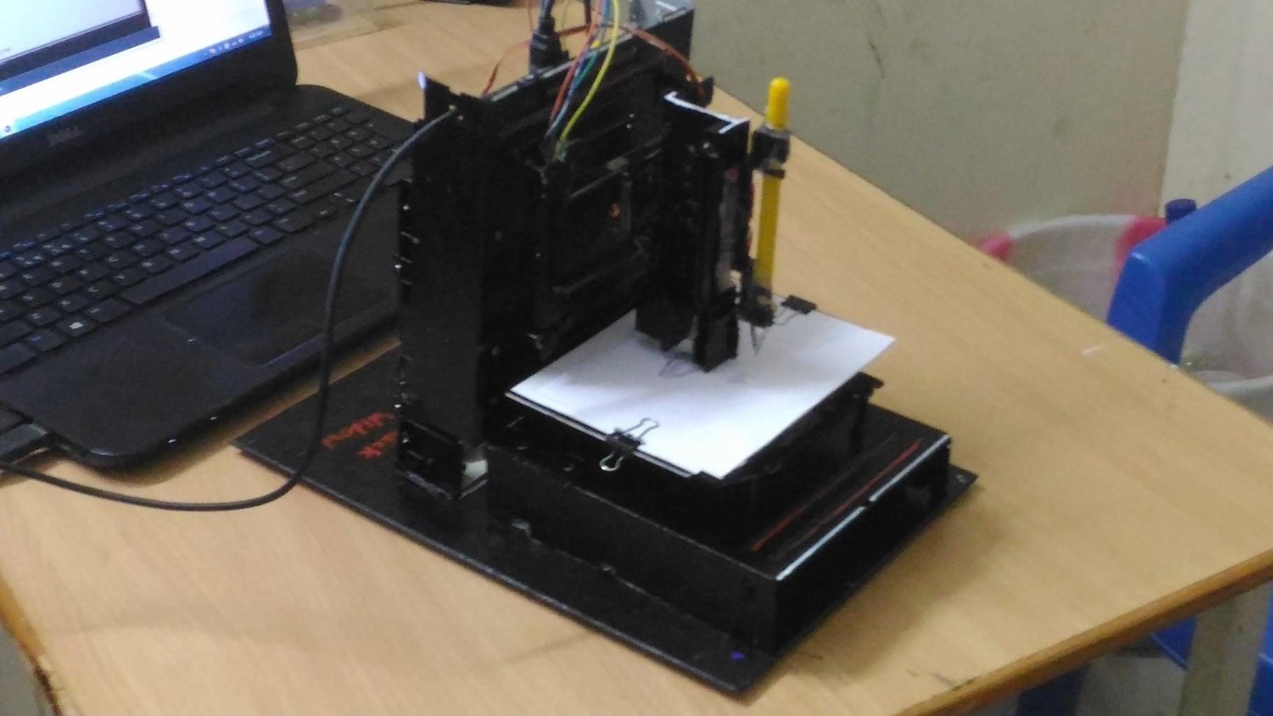 The Black WIDOW CNC Machine