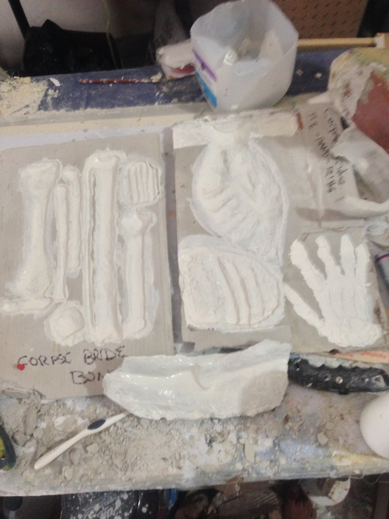 Making the Worm, Tie, and Bones