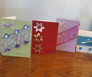 Fancy Recycled Greeting Cards