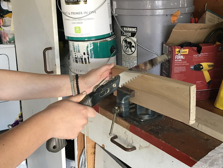 Cut Piece of Wood