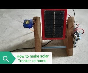 How to Make Solar Tracker Using Arduino and Servo Motor