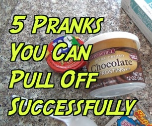 5 Cruel Pranks You Must Do on April Fools' Day