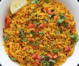 Poha   (15-minute Vegan Indian Recipe)