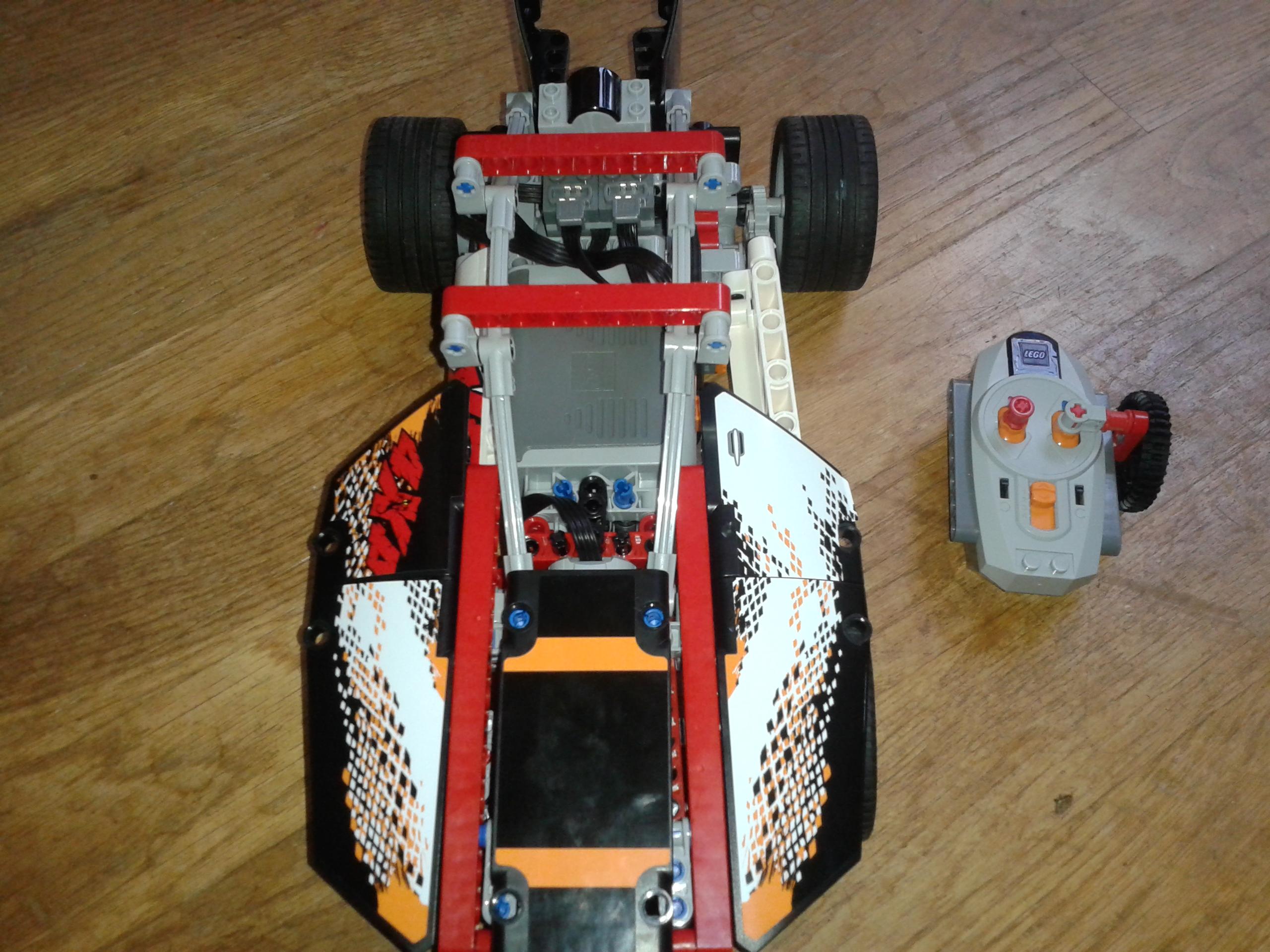 """RC Lego Car """"the board"""""""