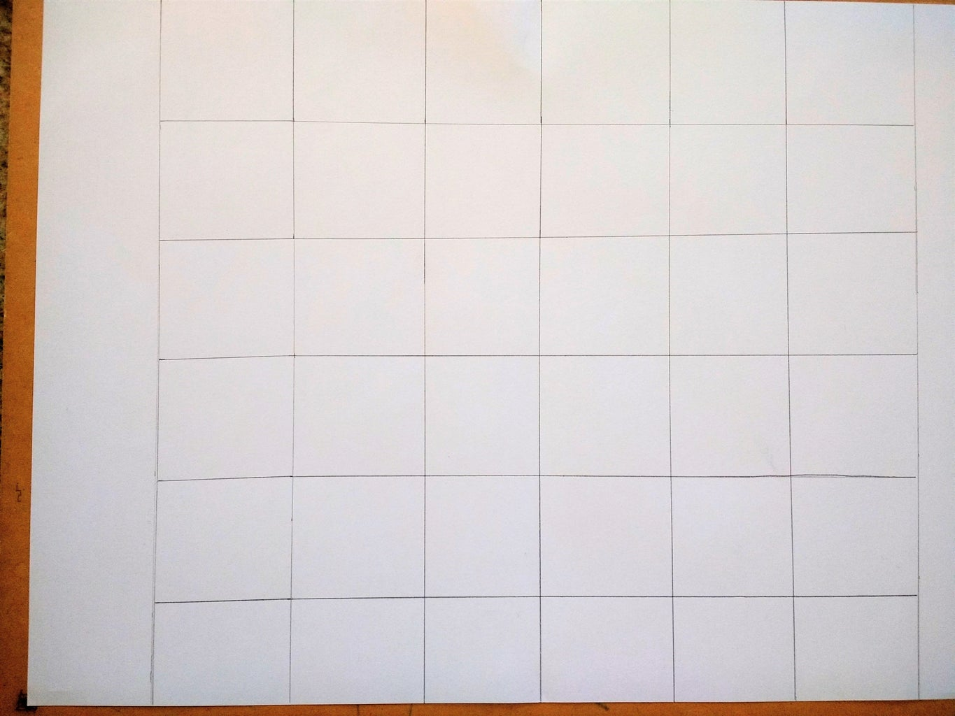 """Drawing the Bingo Squares on the """"Board"""""""