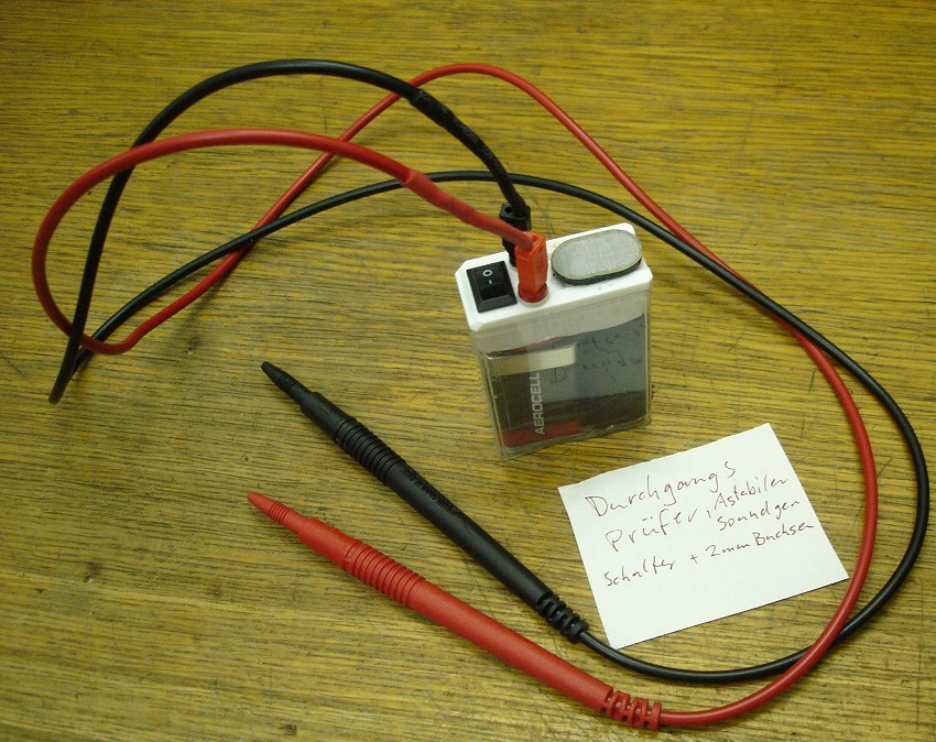 Simple Pocket Continuity Tester