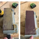 How to Clean a Sanding Belt