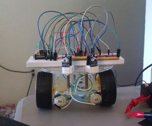 UPDATED: Snake Vision Robot Using Two MLX90614 No Contact Temperature Modules