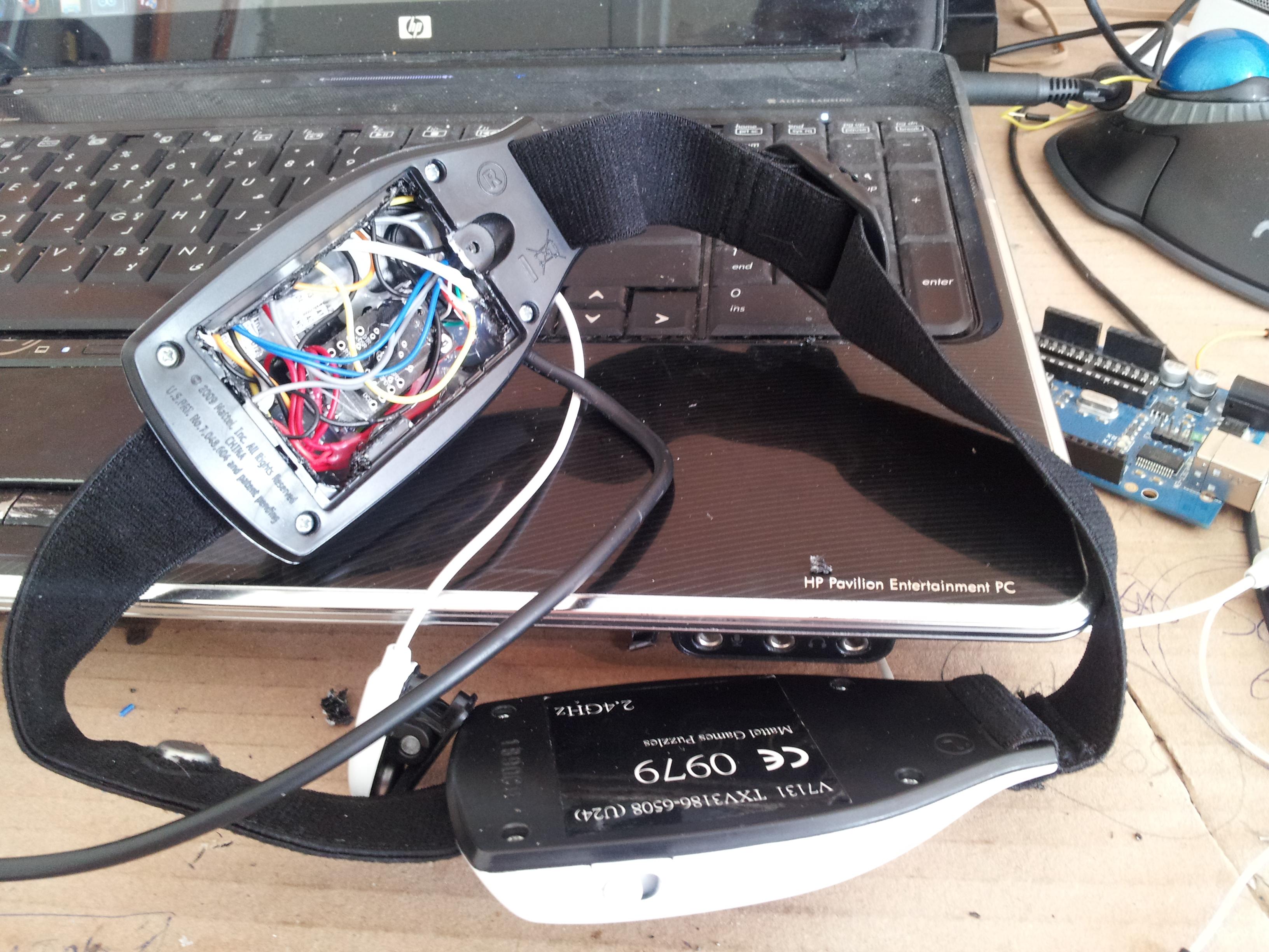 Arduino brain wave reader