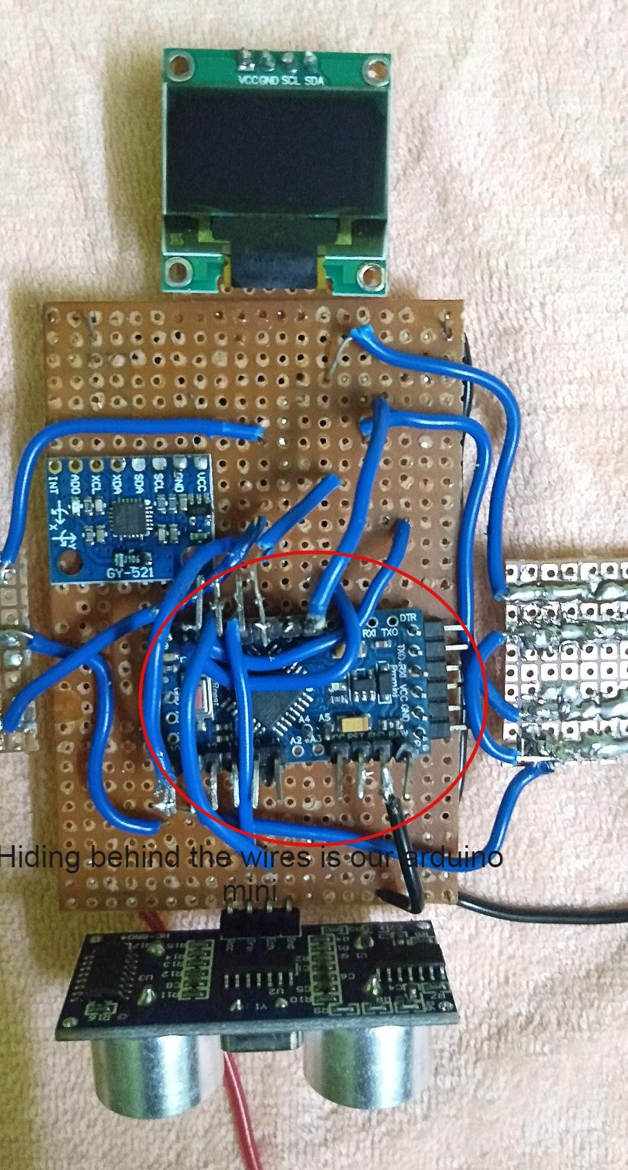 Hardware: PerfBoard Assembly (Arduino)