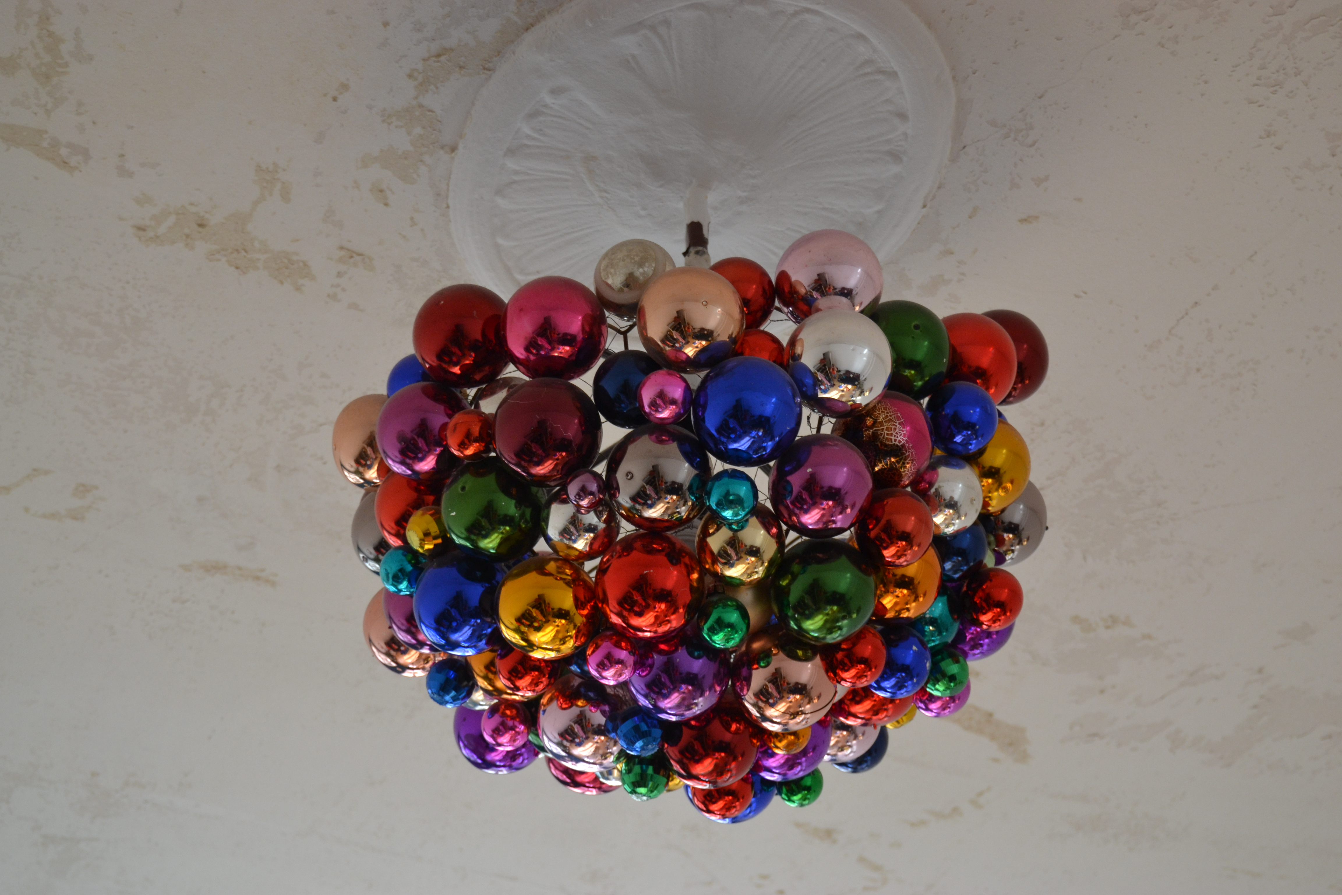 """the amazing color ball """"chandelier"""""""