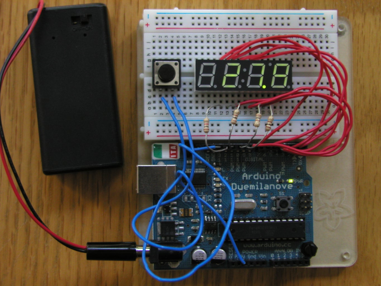 4-Digit 7-Segment LED Display + Arduino