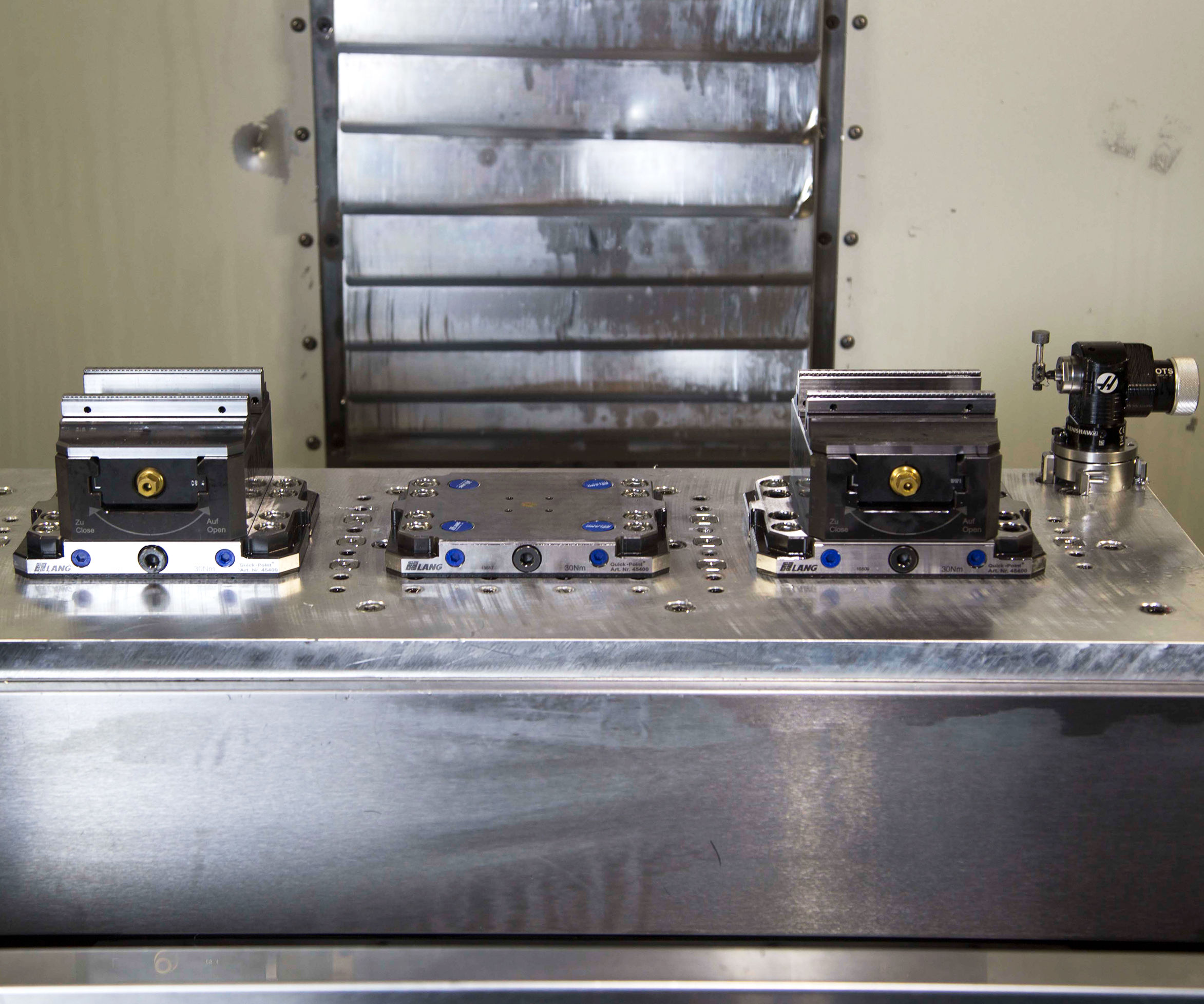 Haas Mill Workholding Templates