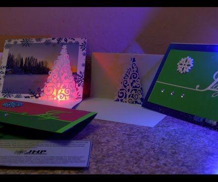 LED Pop-up Holiday Card