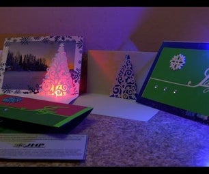 LED Pop-up Holiday Card