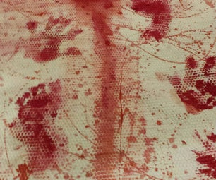 Bloodsplatters, She Made. Blood on Your Doormat and Rug.
