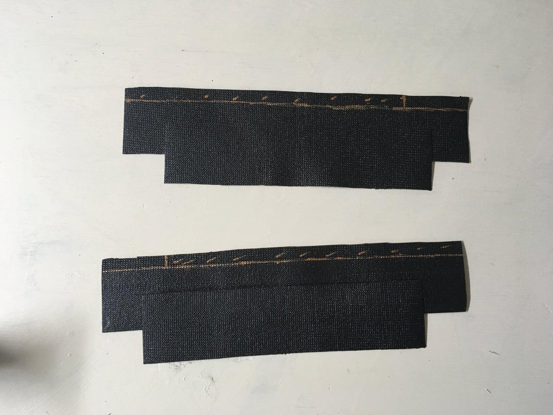 Gladiator Skirt: Side Strip Panels