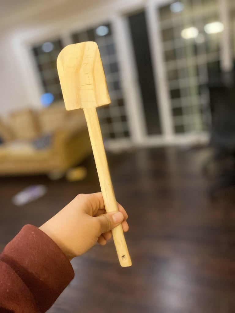 Making a Wooden Spatula - Hand Tools Only