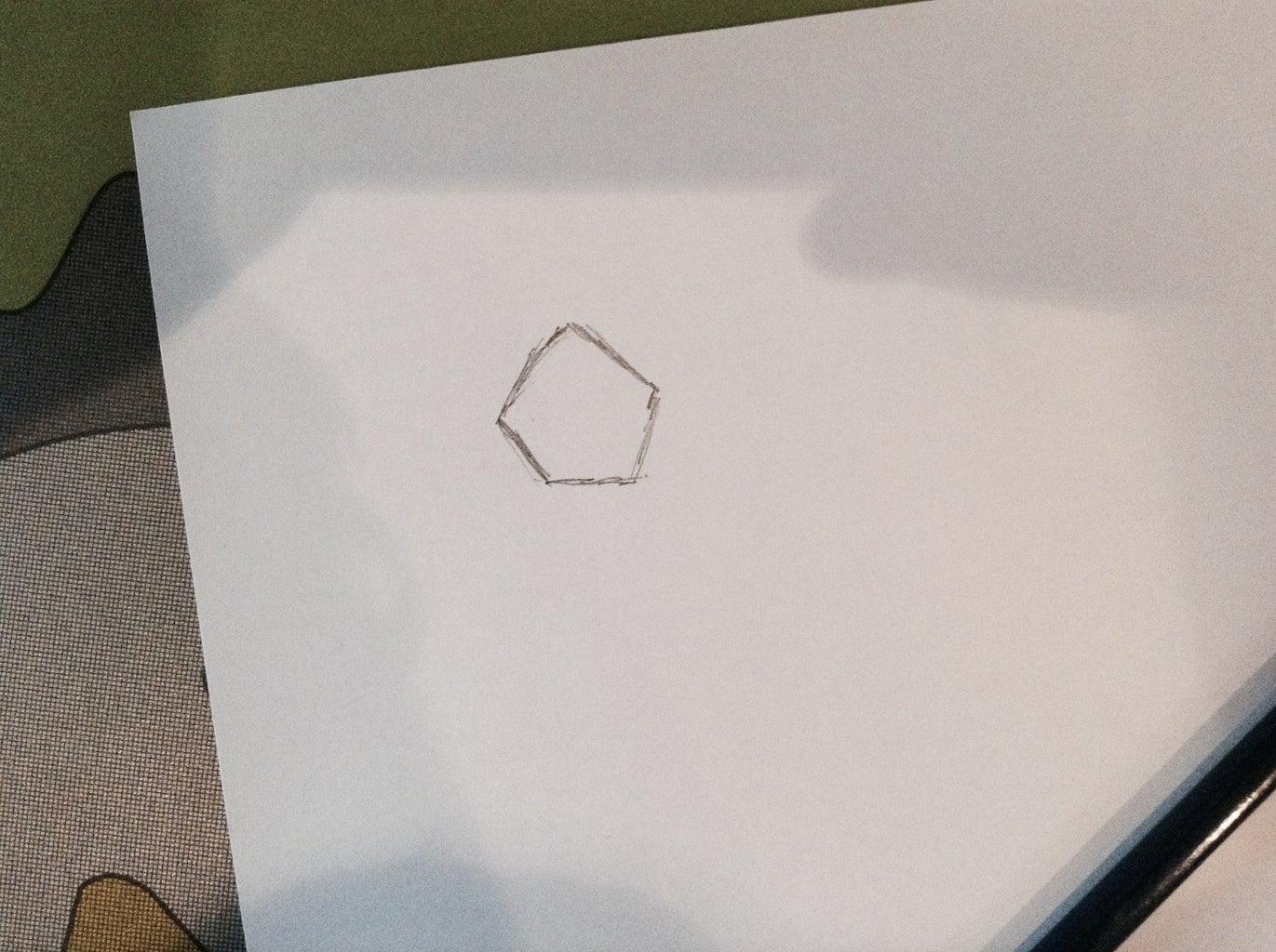 Draw a Pentagon