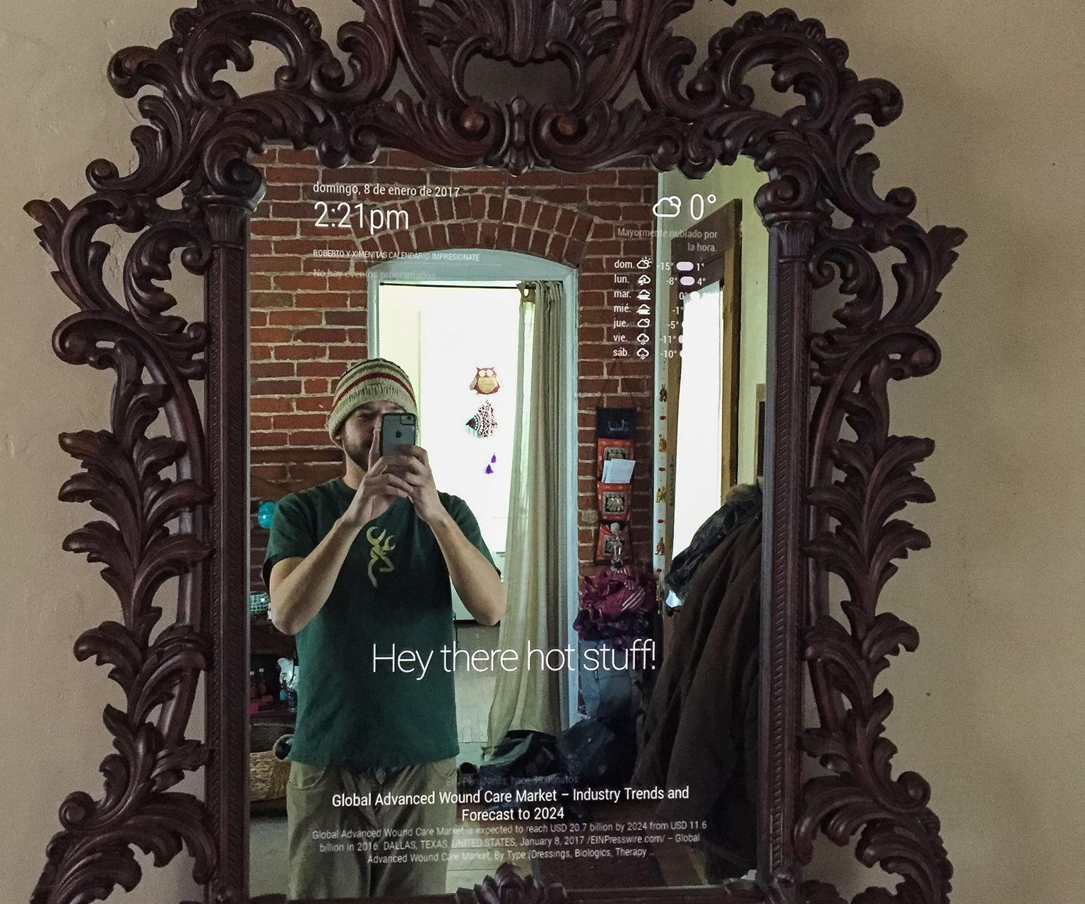 Ornate Magic Mirror