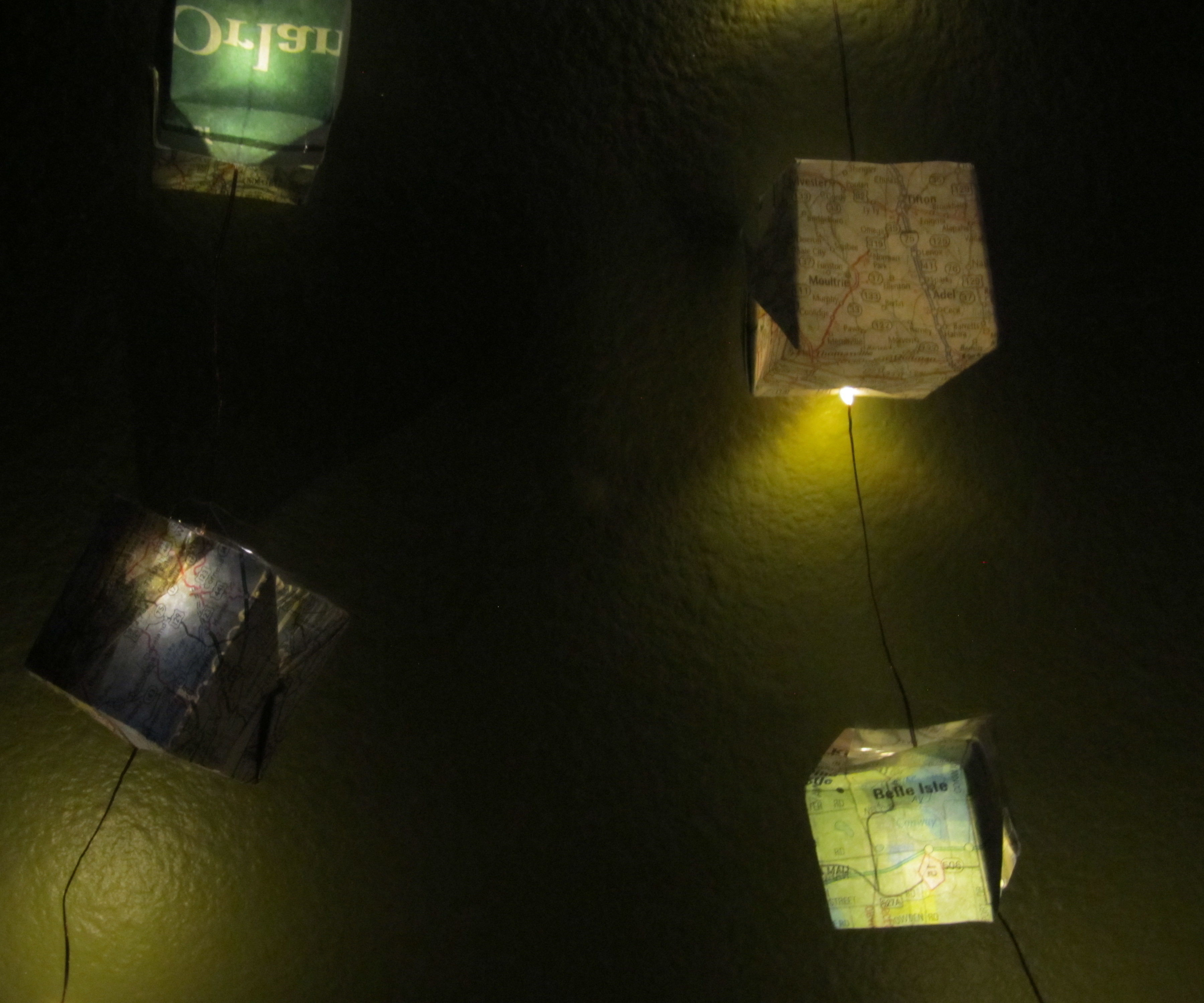 Cube Map String Lights