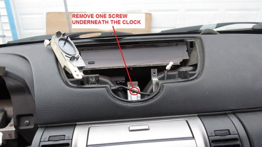 Remove the Stereo From the Dash
