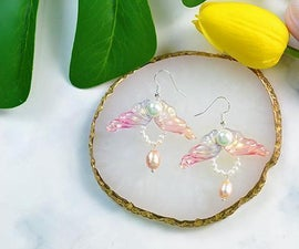 Beebeecraft Tutorials on How to Make Butterfly Wing Earrings