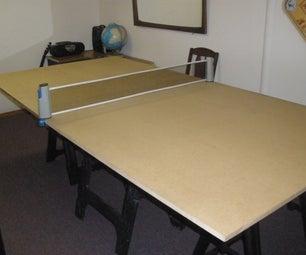 DIY Ping Pong Table