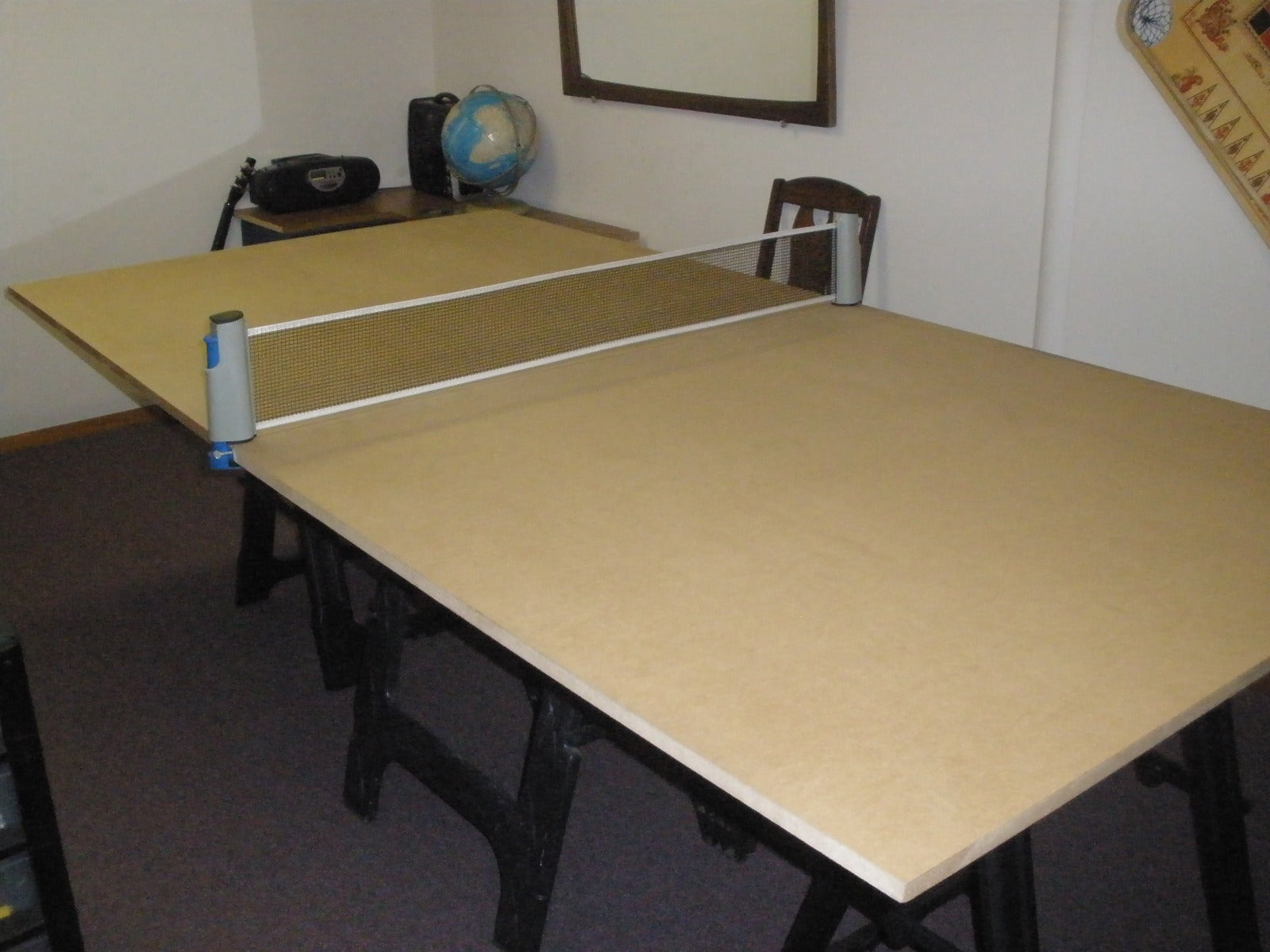 DIY Ping Pong Table : 7 Steps - Instructables