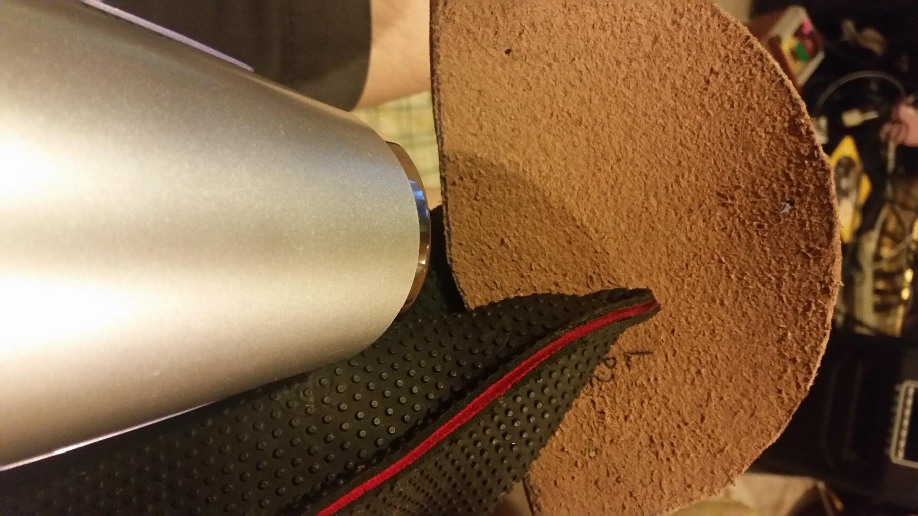 (Optional) Hardening the Leather