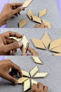 Let's Make Diamond Shape Design!