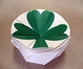 The Guinness Box -- Sort of an Origami Box for St. Patrick's Day